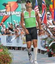 Compression Wear at Ironman Triathlon